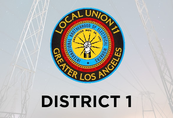 District 1 — July Report