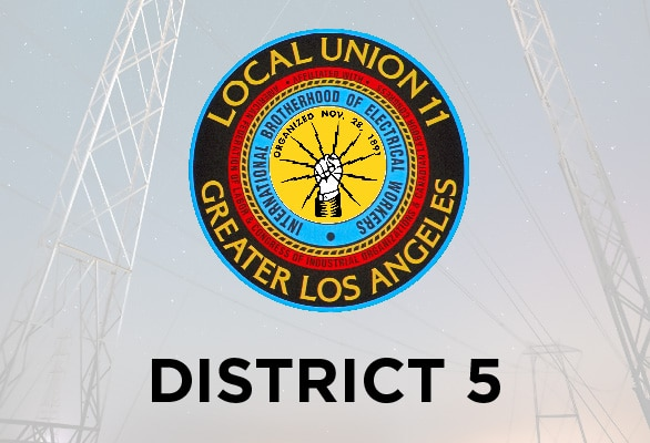 District 5 — October Report