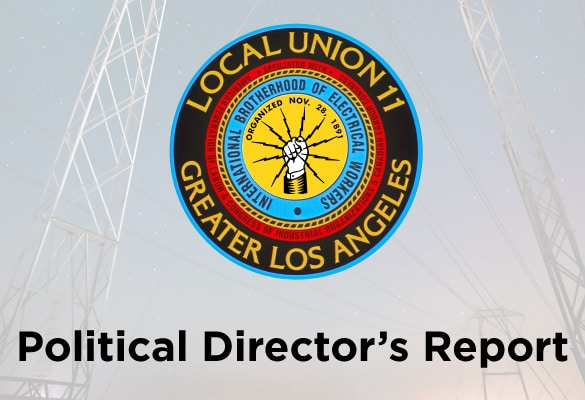 Political Director's Report October