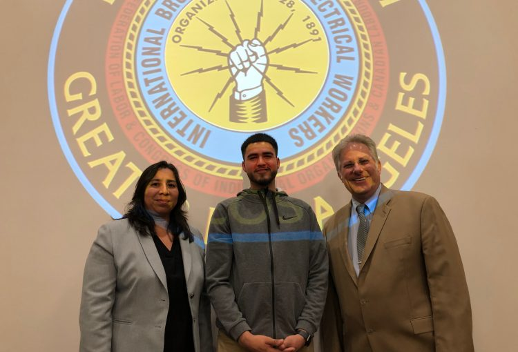 Anthony Soto Named Apprentice of the Month!