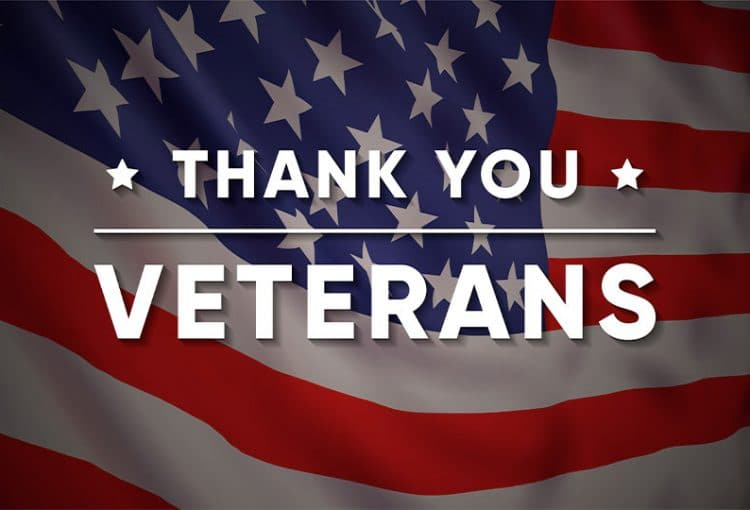 Thank Our Nation's Heroes for their Service