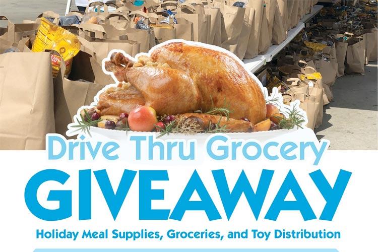 Drive Thru Grocery Giveaway