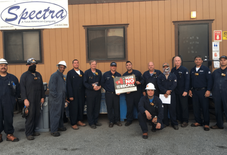 Spreading the Word in D2 – Vote NO on Anti-Union Recall