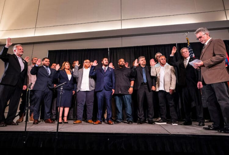 IBEW 11 Inducts New & Returning Officers